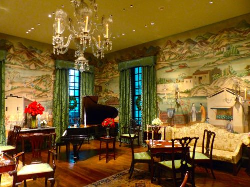 Holidays in the Brandywine Valley- Winterthur room