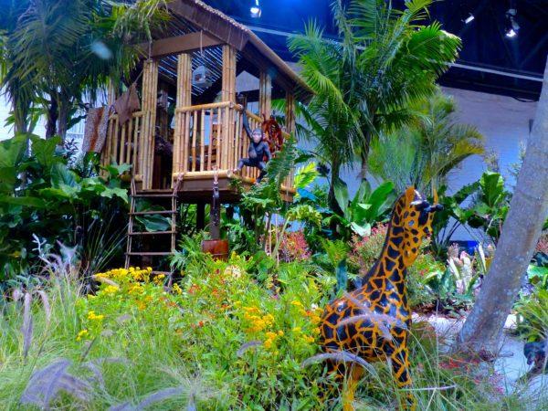 Philadelphia- Philadelphia Flower Show- Tarzan's Treehouse