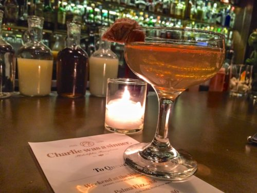 2 Days in Philadelphia - Charlie Was A Sinner- Cocktail