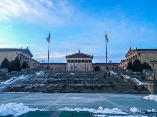 2 Days in Philadelphia - Philadelphia Museum of Art- Steps