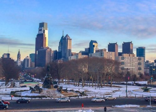 2 Days in Philadelphia - Philadelphia Museum of Art- View from Steps