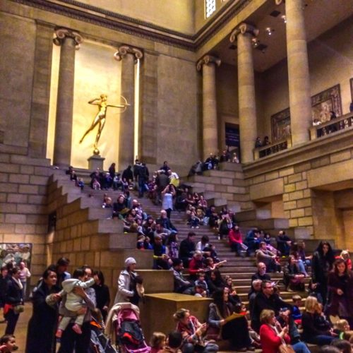 Philadelphia- Philadelphia Museum of Art- main staircase