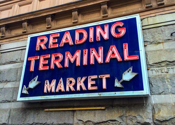 Philadelphia- Reading Market Terminal- sign