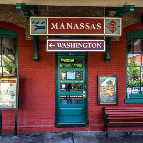 DC Day Trip to Manassas- Train Depot