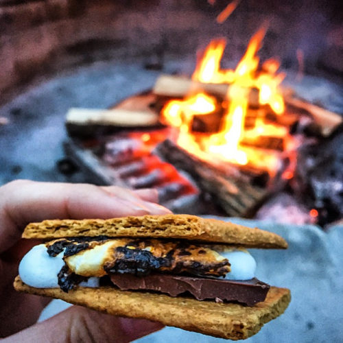 Omni Bedford Springs Review- s'mores