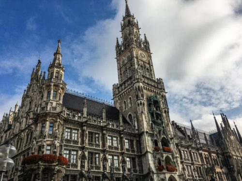 Munich- Marienplatz New Town Hall 2