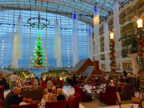 Holidays at the National Harbor- Belvedere Lobby Bar