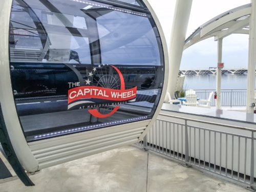 Holidays at the National Harbor- Capital Wheel pod