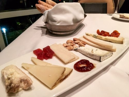 Holidays at the National Harbor- Old Hickory Steakhouse Cheese Plate