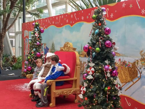 Holidays at the National Harbor- Santa at the Gaylord