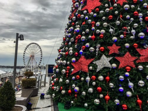 Holidays at the National Harbor- Tree and Capital Wheel