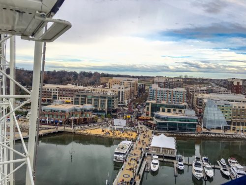 Holidays at the National Harbor- View from the Capital Wheel
