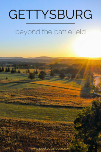 An amazing Gettysburg getaway that takes you beyond the battlefield!
