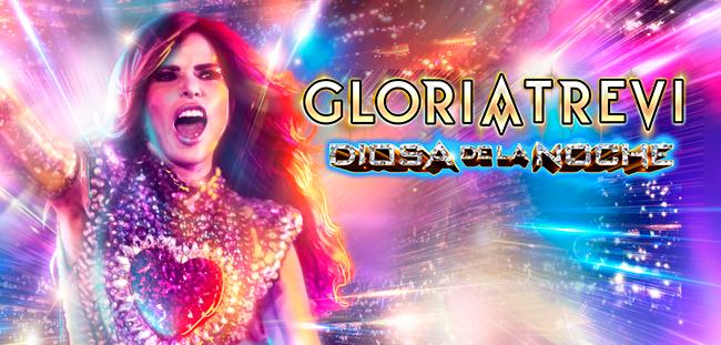 Gloria Trevi en concierto.
