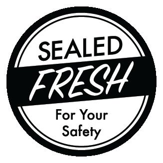 "2"" Black food freshness seal"