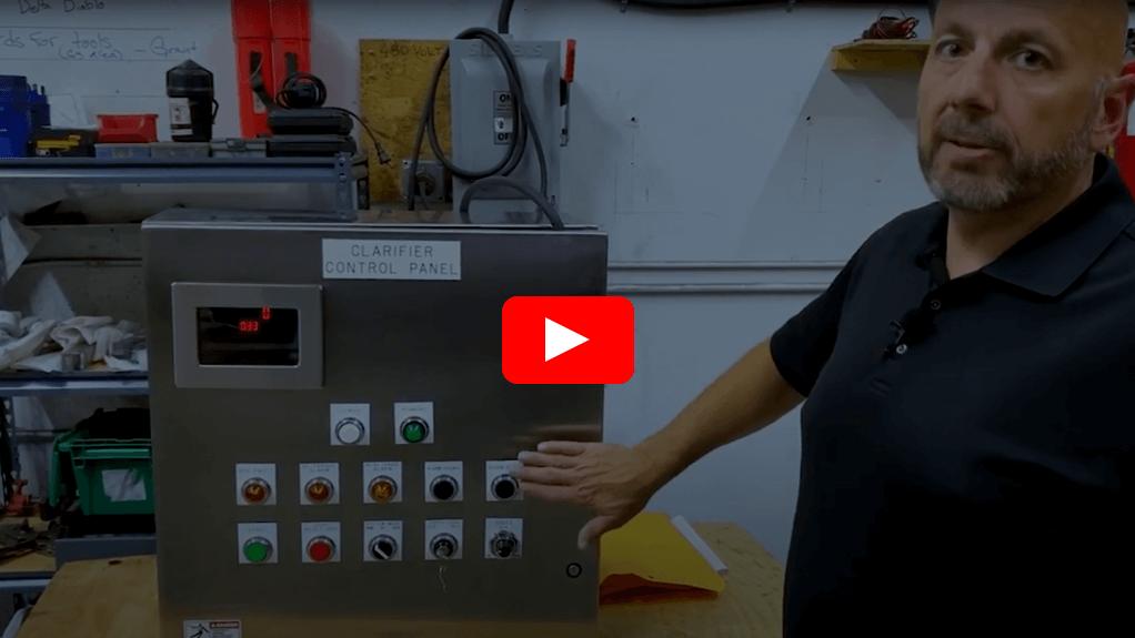 CM Clarifier Drive Control Panel