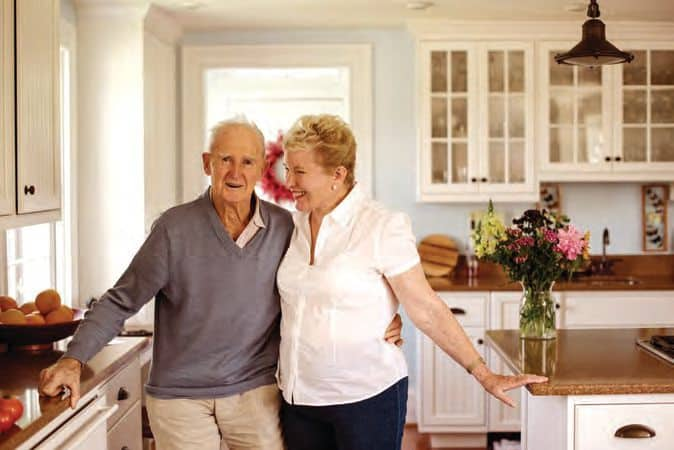 Married for 15 years, Sally and Geoffrey Morrel advocate whole foods and healthy fats.