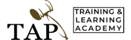 TAP Training Academy logo