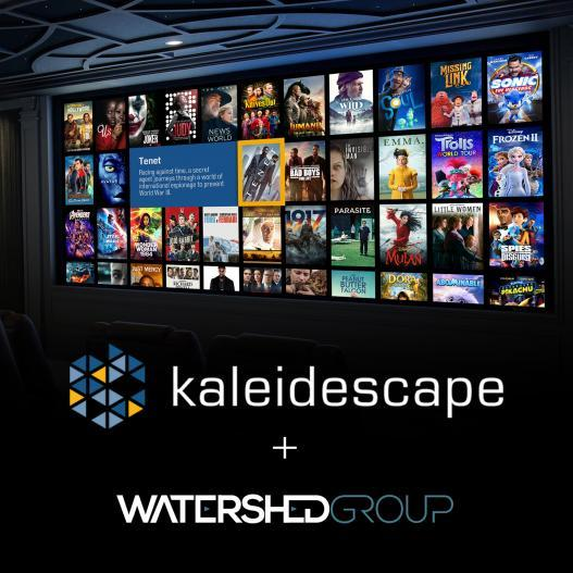 The Watershed Group becomes Exclusive Kaleidescape Canadian Distributor