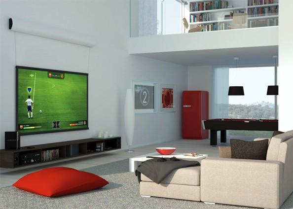 Fighting the Flat Panel Trend in Home Entertainment Venues