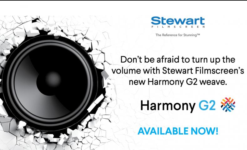 Harmony G2 by Stewart Filmscreen