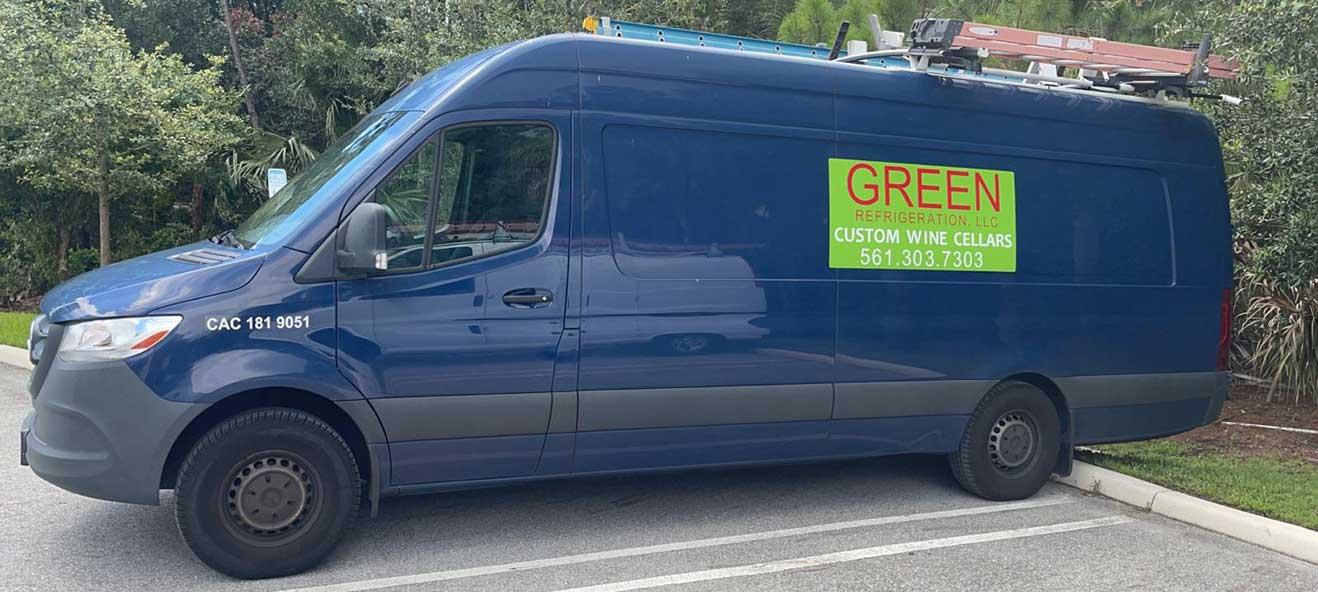 Green Refrigeration West Palm Beach Florida Van
