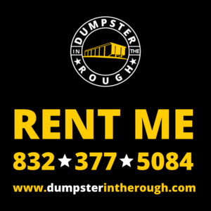 Did you add dumpster rental to your shopping cart?