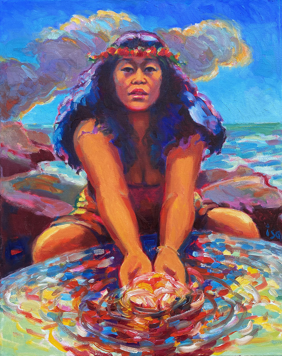 She Who Creates the Islands