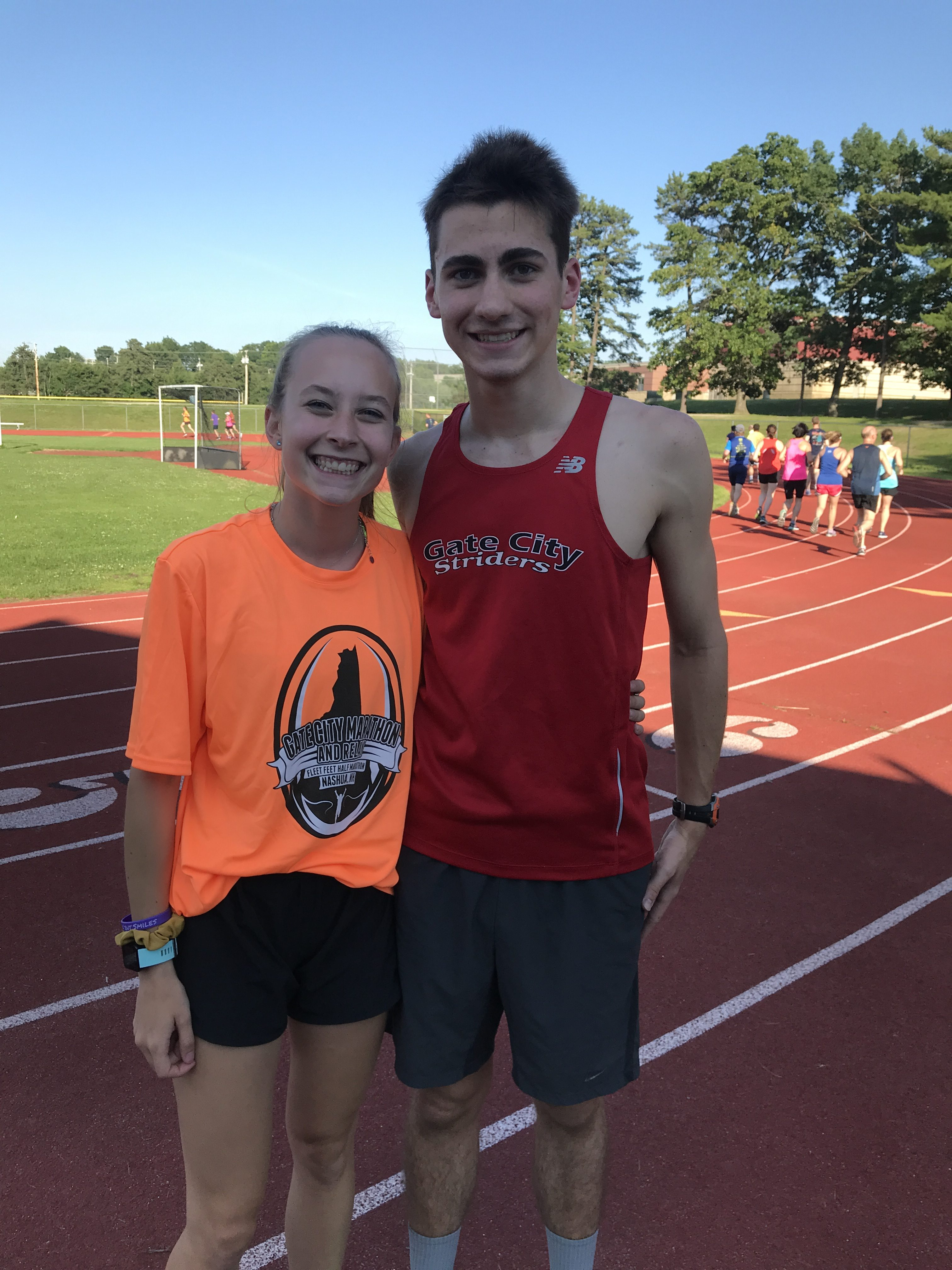Andrew and Hannah, 2019 Scholarship Winners