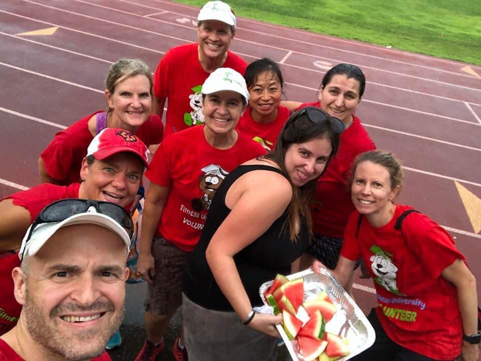 Fitness University Volunteers