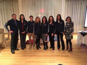 2017 New England Grand Prix IronRunners — with John Singelais, Lin Zhang, Rebecca Dorr, Emily Cunha, Carole Singelais and Suzanne Barker.