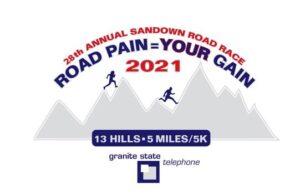 Sandown 5mile race logo