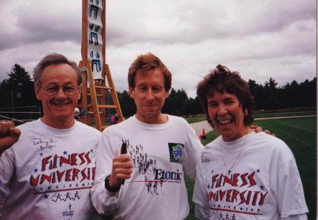 Terry and Aline with Bill Rodgers!