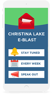Get the weekly E-Blast right in your inbox