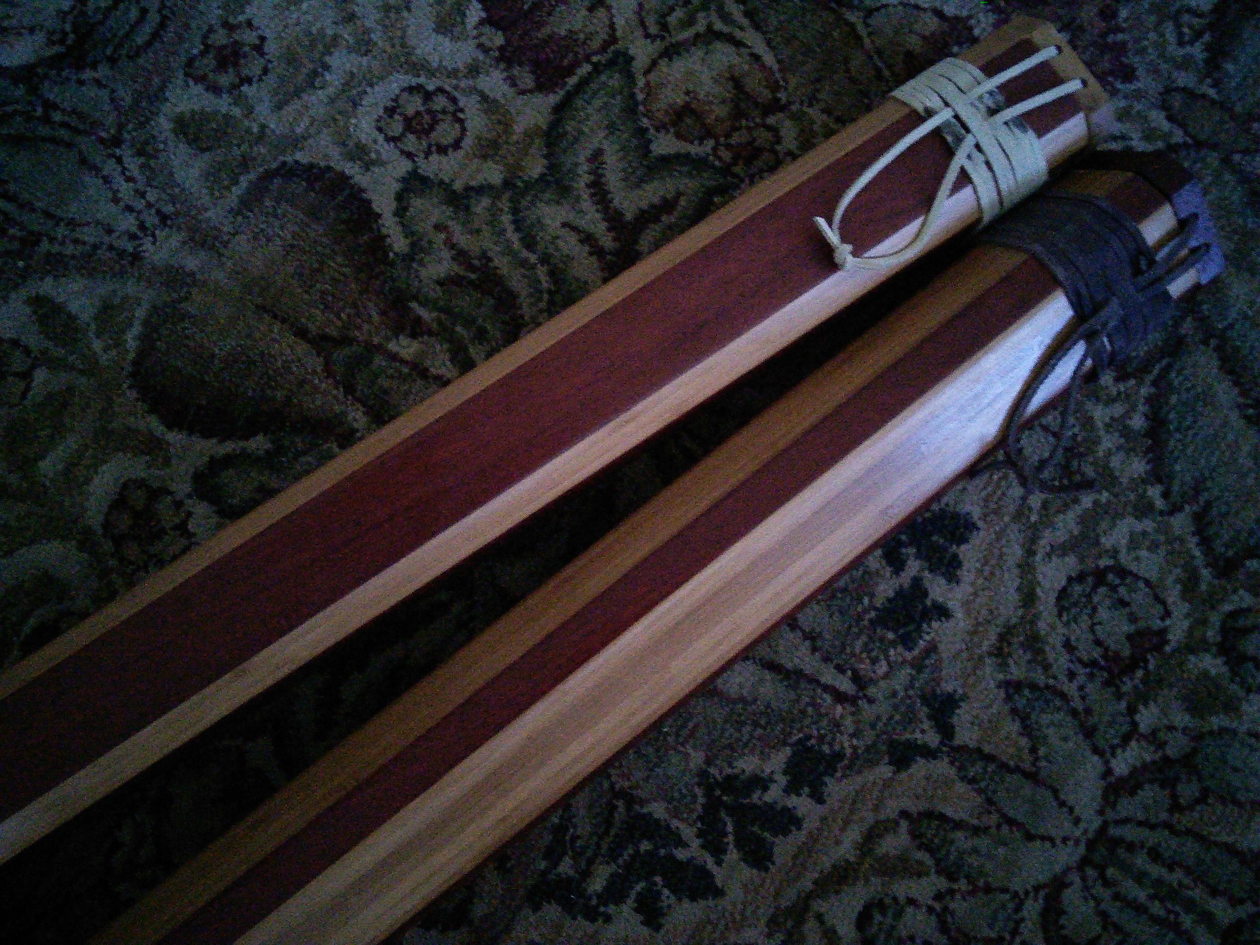 Custom Wooden Rod Cases