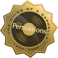 the persuasions kings of a capella website badge