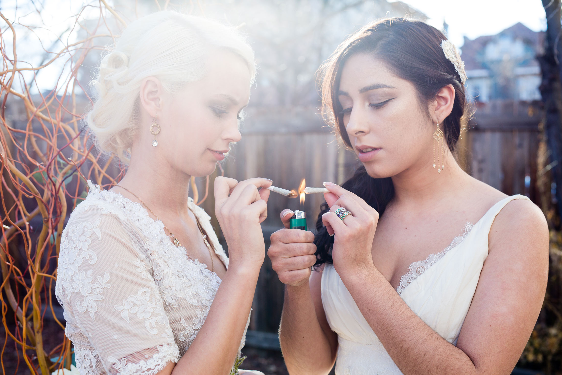 Image result for weed wedding