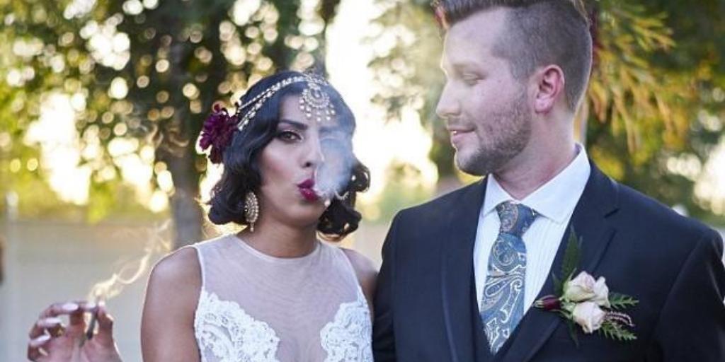 6 Classy Cannabis Wedding Stories