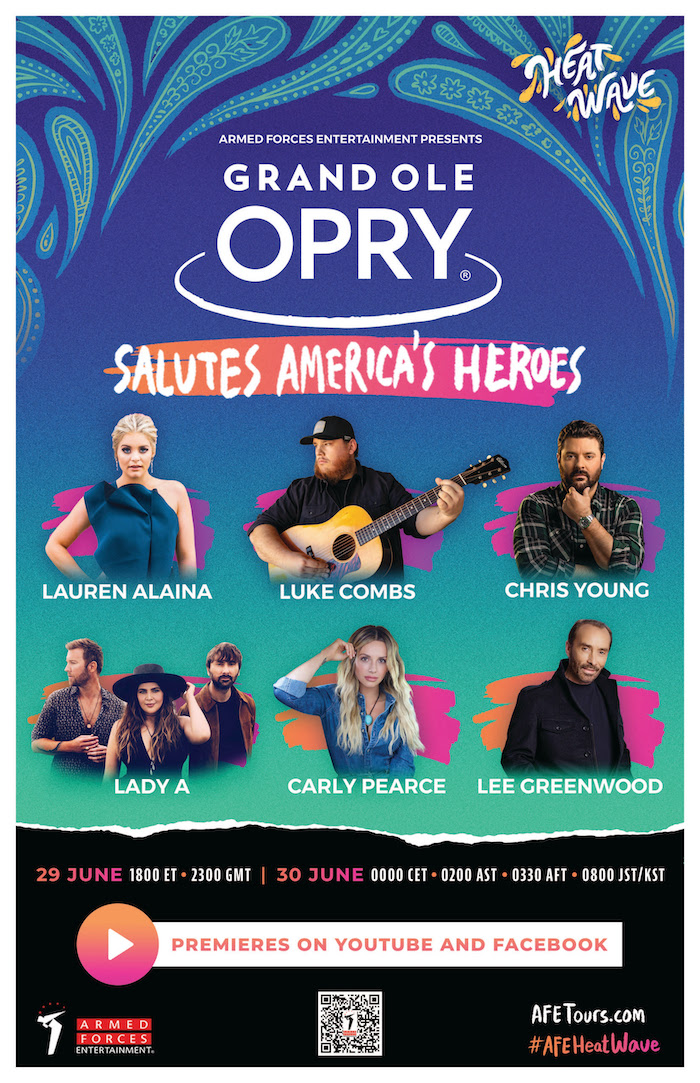 The Grand Ole Opry Salutes America's Heroes