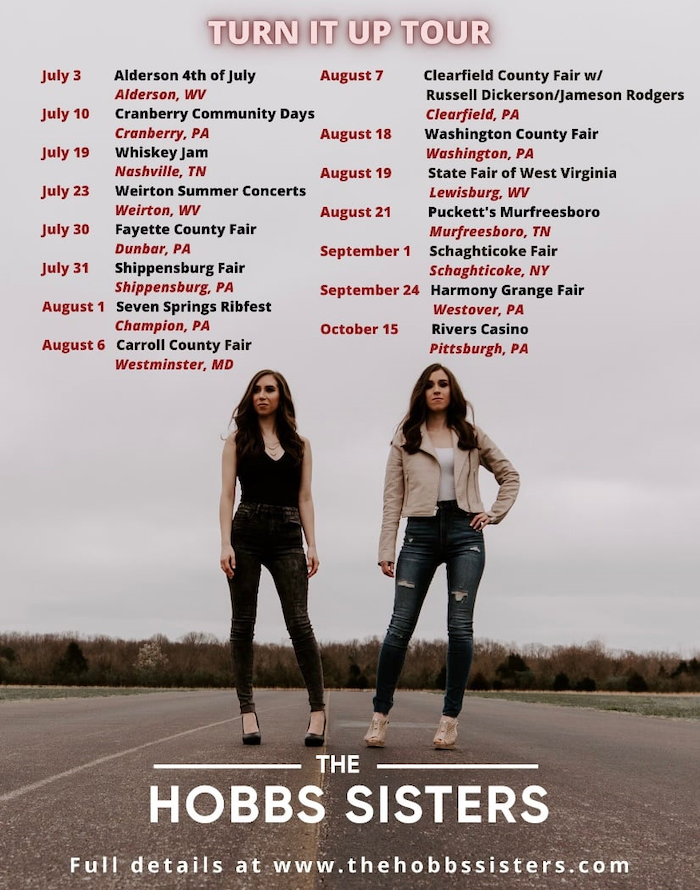 The Hobbs Sisters Turn It Up Tour
