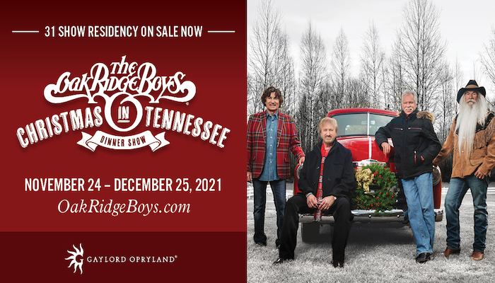Oak Ridge Boys Christmas in Tennessee
