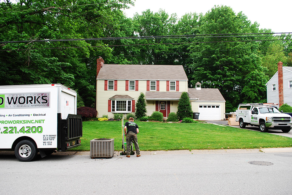 Delaware new air conditioner and air conditioning repair ProWorks