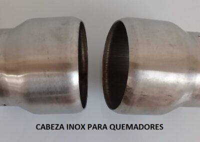 cabezas de inox BG10- BG20