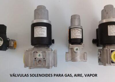 electrovalvulas para gas
