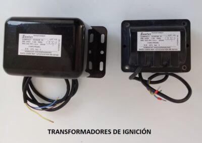 transformadores ignicion