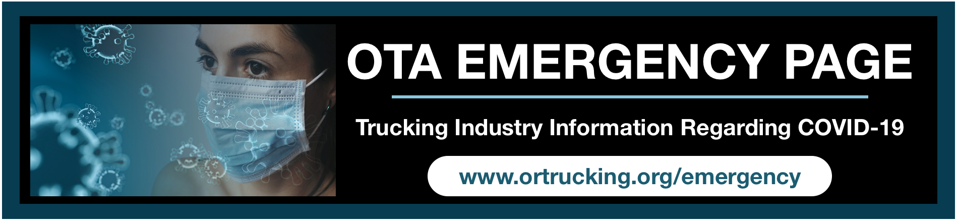 OTA Emergency Page Trucking Industry Information Regarding COVID-19