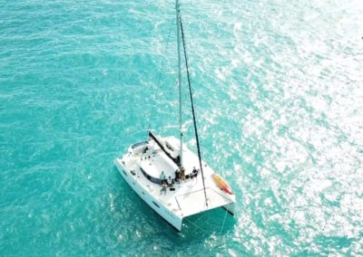 Mooring on the Coral Reef
