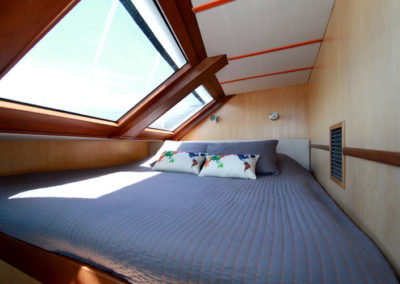 Aft Port Forward Master Estate Berth With Views of the Ocean