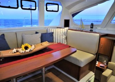 Galley Seating with Views of the Ocean