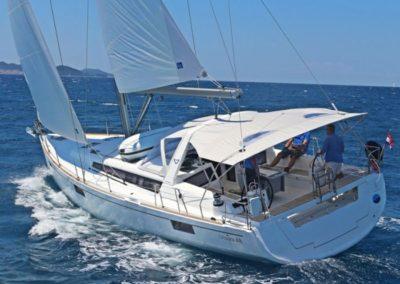 Satori under sail
